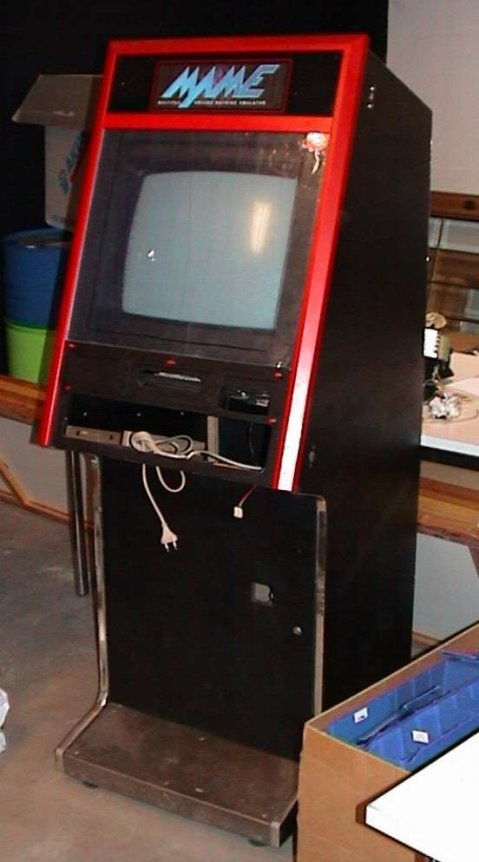 MAME cabinet, overall view 1