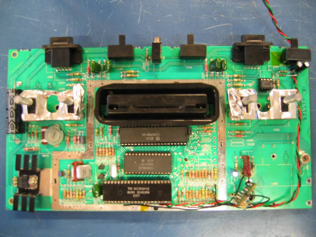 atari 2600 my diy blogatari 2600, upper side of board