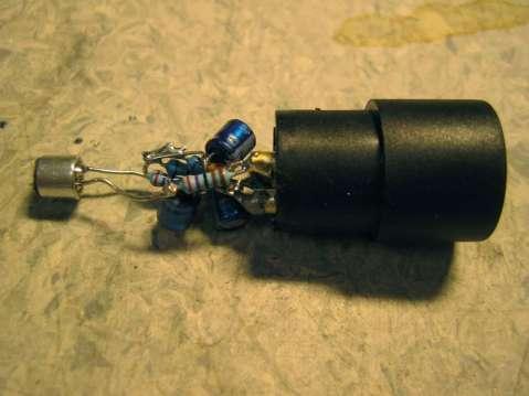 Condenser Mic, circuit test setup