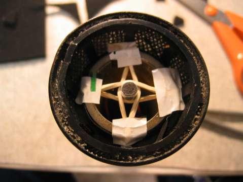 Condenser Mix, capsule installed