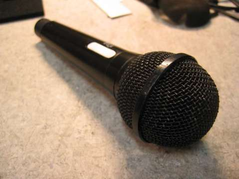 Condenser Mic, completed unit