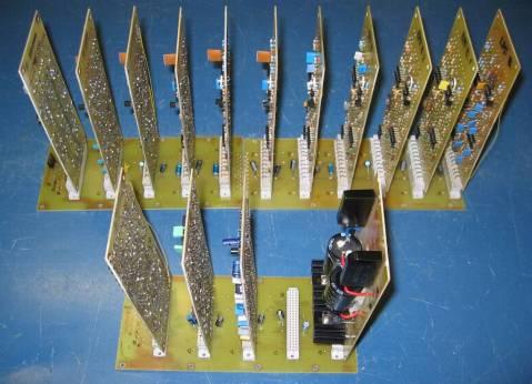 Elektor Vocoder, boards angle 1
