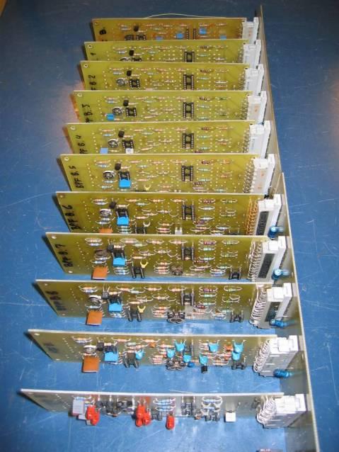 Elektor Vocoder, boards angle 2