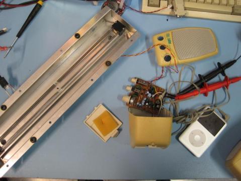 Test setup for Jerry Springer
