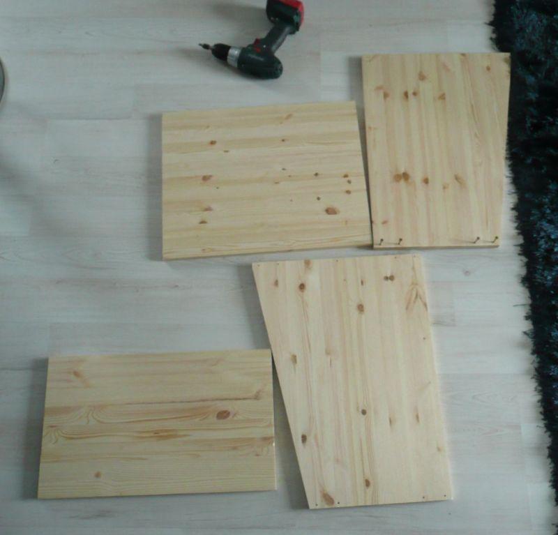 wooden rack cabinet