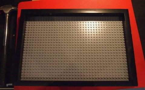 Lego Key Organizer frame