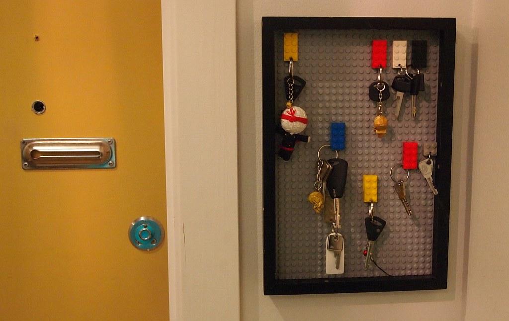 Lego Key Organizer My Diy Blog
