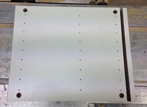 Side board sliced..