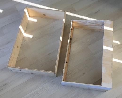 TTSH, case frames assembled