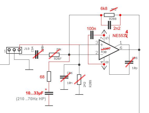ttsh reverb driver mod schematic by nordcore