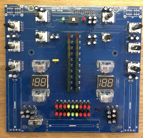 The panel side of VMX100 main board.